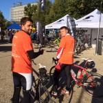 Impressionen vom 1. Schweriner-Seen-Jedermann-Radrennen 2015